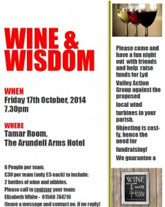 Wine And Wisdom Poster