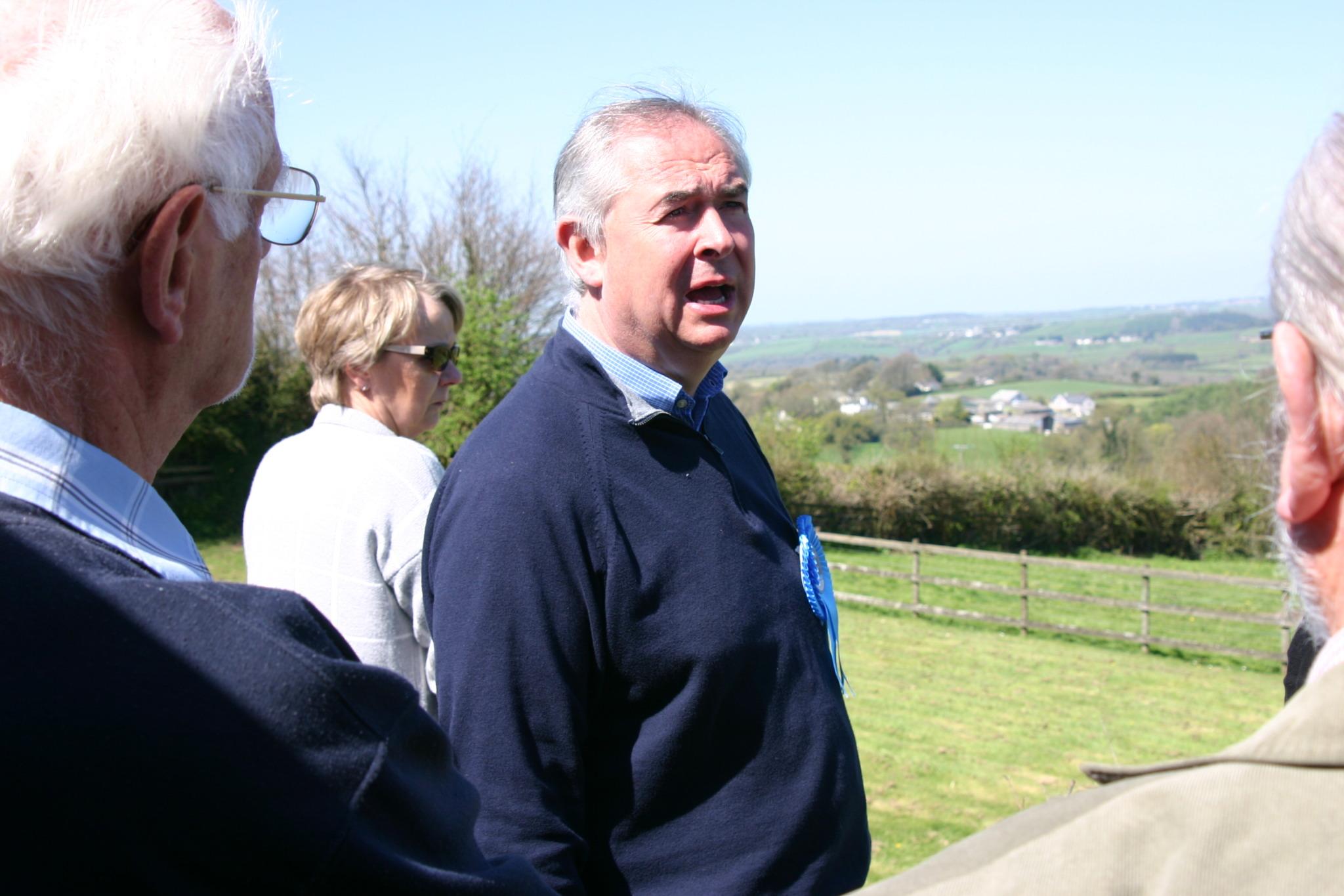 Conservative candidate Geoffrey Cox